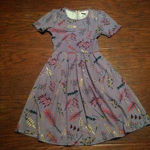 LuLaRoe Amelia Dress. Size XS. Like new!